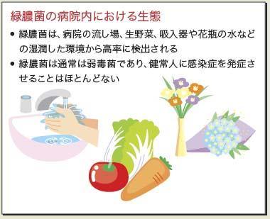 膿 症状 緑 菌
